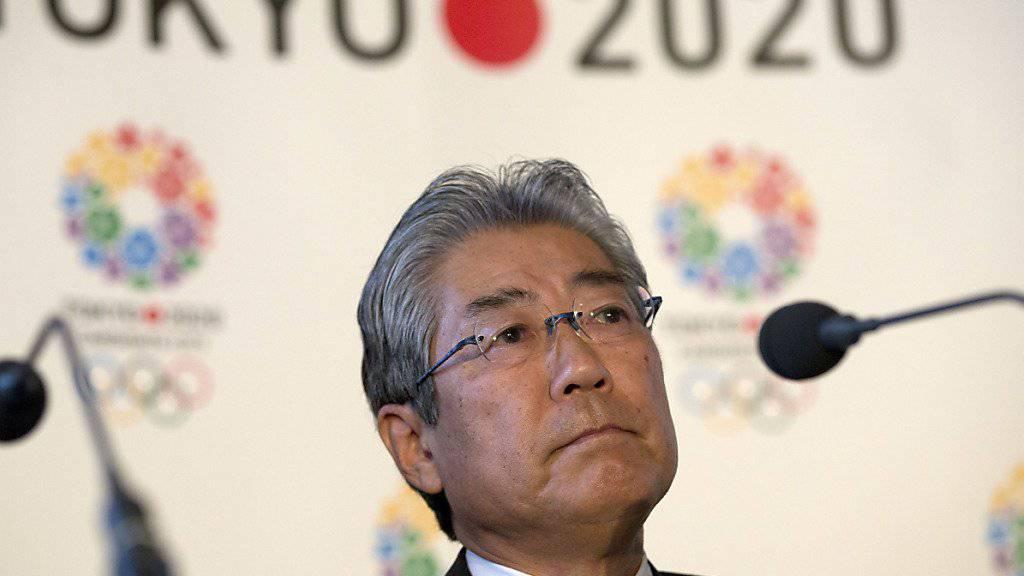Soll in eine Bestechungs-Affäre verwickelt sein: Tsunekazu Takeda