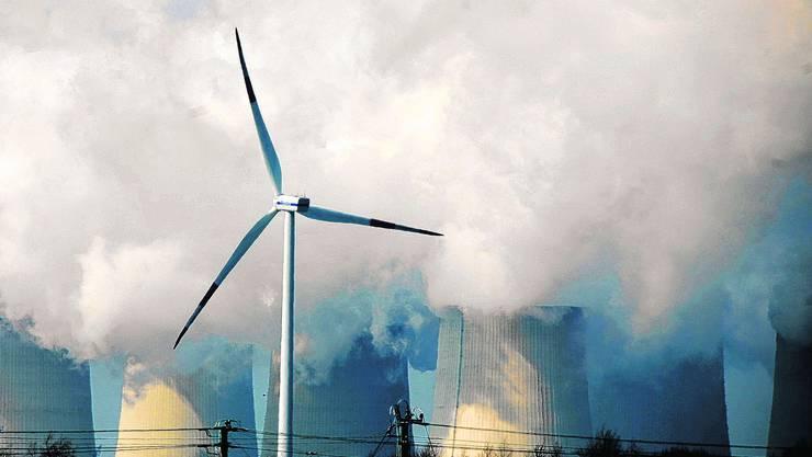 Der Energie-Hub in Baden-Dättwil bleibt vorerst ein Zukunftstraum: Die Initiatoren beklagen schlechte Rahmenbedingungen. Foto: AZ