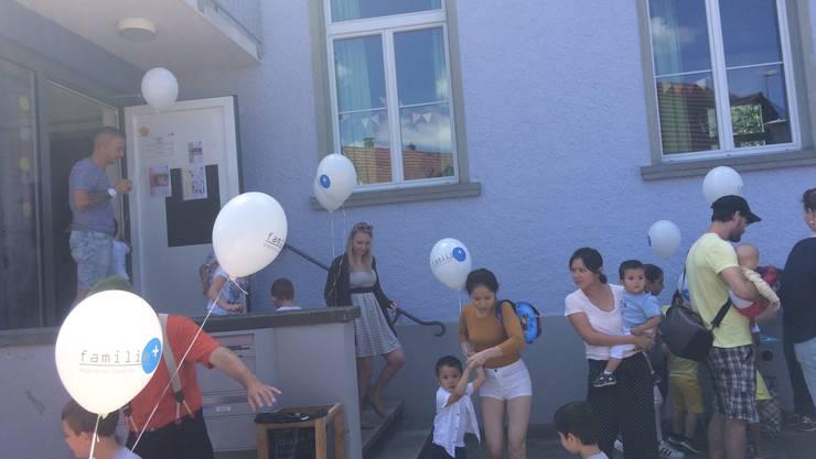 Spielgruppen-Fest familie+