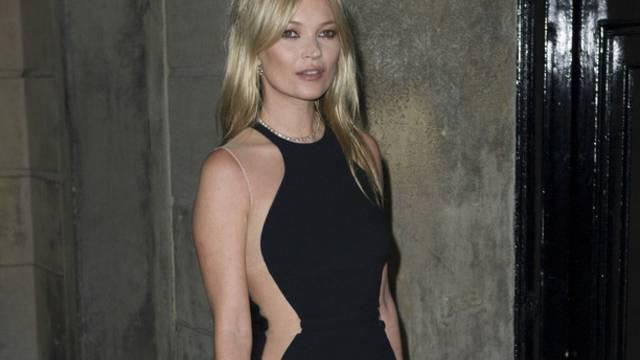 Kate Moss kauft nicht gerne bei Internet-Shops ein (Archiv)