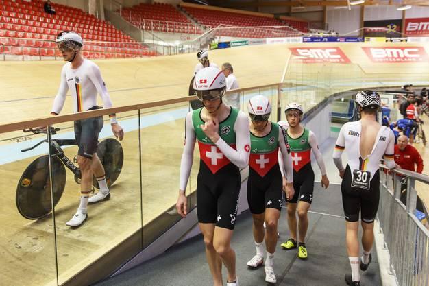 Die Track Cycling Challenge ist am Mittwoch mit Vorläufen und Qualifikationen gestartet.