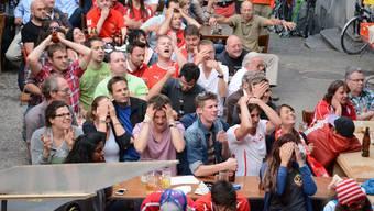 Die Fans im Aargau wollen den Einzug ins Viertelfinale