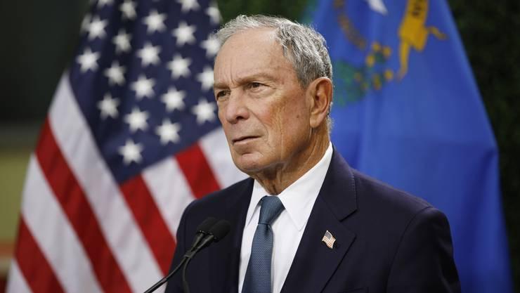 Lange wurde er als möglicher Präsidentschaftskandidat der Demokraten gehandelt. Nun gab Michael Bloomberg bekannt, dass er nicht antreten werde.