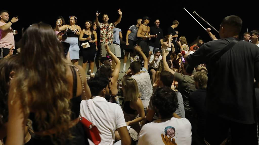 Keine nächtlichen Partys auf Mallorca bis Mitte September