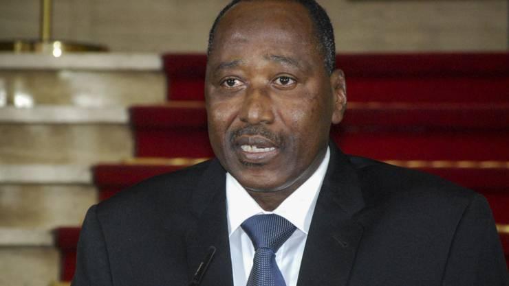Amadou Gon Coulibaly sollte bei der Präsidentenwahl im Oktober als Kandidat der ivorischen Regierungspartei antreten und stand Staatschef Alassane Ouattara nahe. Foto: Diomande Ble Blonde/AP/dpa
