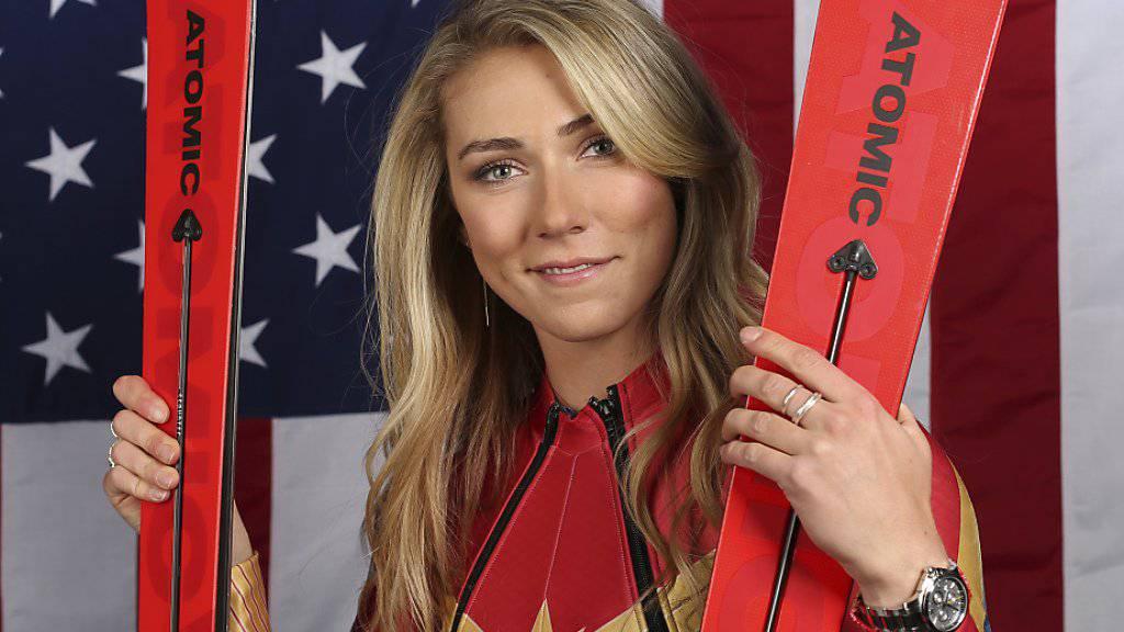 Wurde für ihre Leistungen des Vorwinters erstmals mit dem «Skieur d'Or» ausgezeichnet: Mikaela Shiffrin