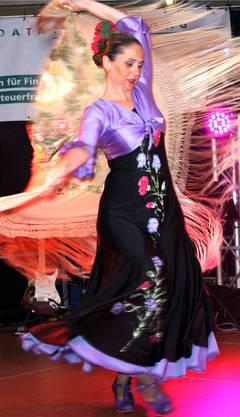 Flamenco-Tänzerin Esmeralda Fuentes.