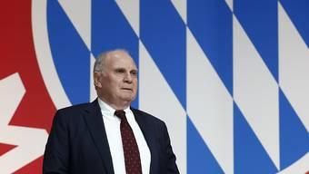 Beschlossen: Uli Hoeness tritt in drei Monaten als Präsident und Aufsichtsratschef von Bayern München zurück