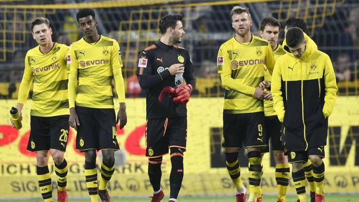Roman Bürki (ganz in Schwarz) attackierte die eigenen Fans