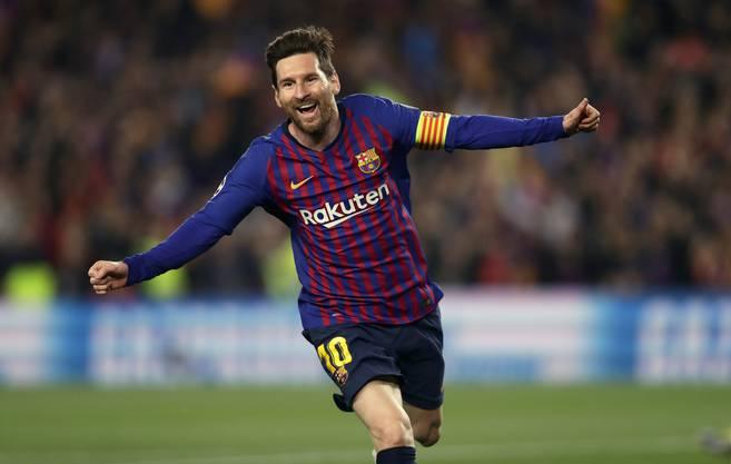 Lionel Messi hat diese Saison bereits 46 Tore auf dem Konto.