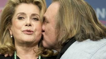 Zwei Grosse des französischen Kinos: Deneuve und Depardieu