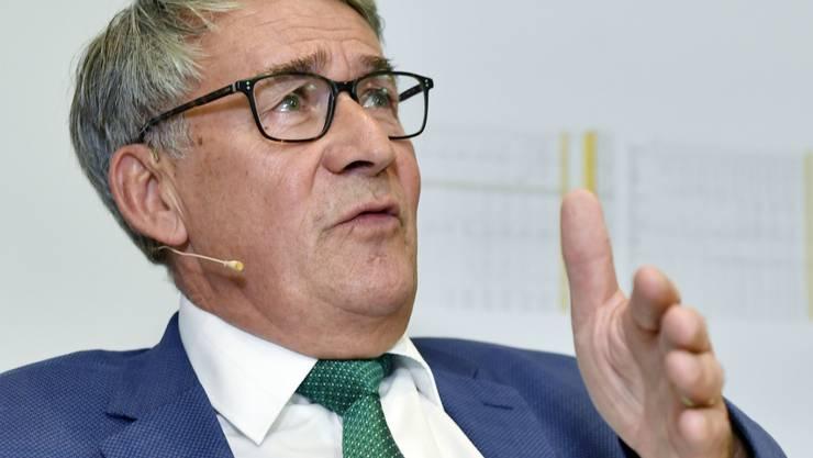 Nach den Worten von Post-Verwaltungsratspräsident Urs Schwaller werden auch Organverantwortungsklagen gegen die Verantwortlichen des Postauto-Skandals geprüft.