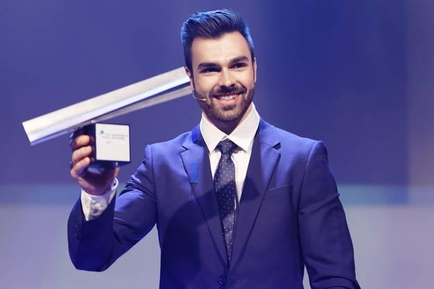 Reck-Europameister Oliver Hegi ist «Aargauer des Jahres» 2018.