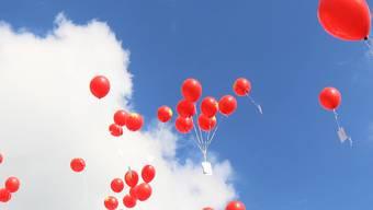 Der Siegerballon des Ballonflugwettbewerbs flog 856 Kilometer. (Symbolbild)