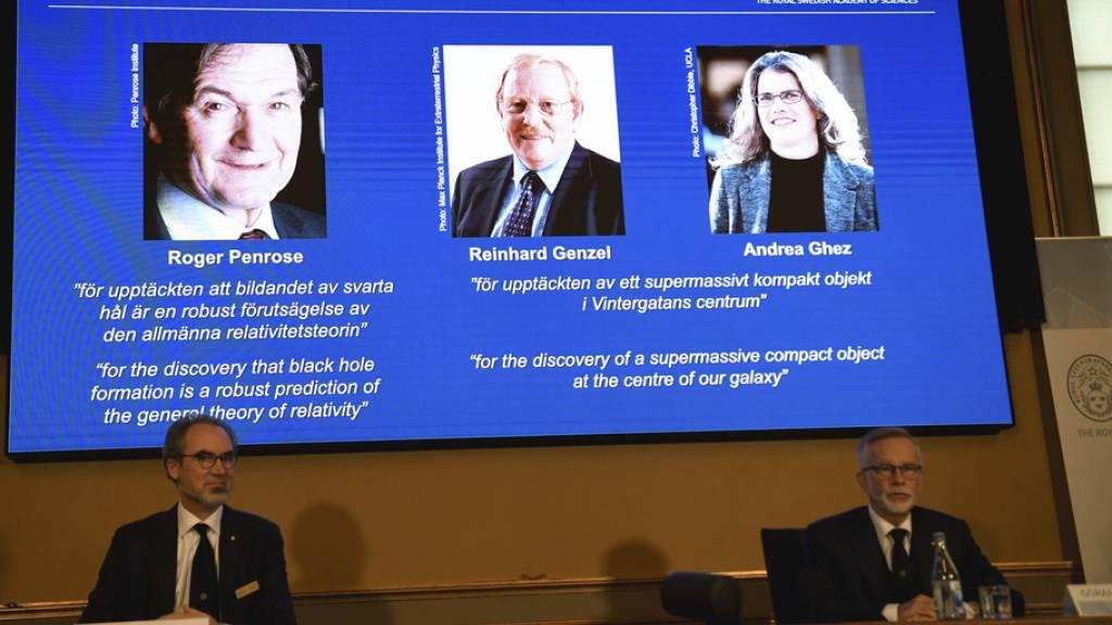 Andrea Ghez ist erst die vierte Frau, die Physik-Nobelpreis erhält