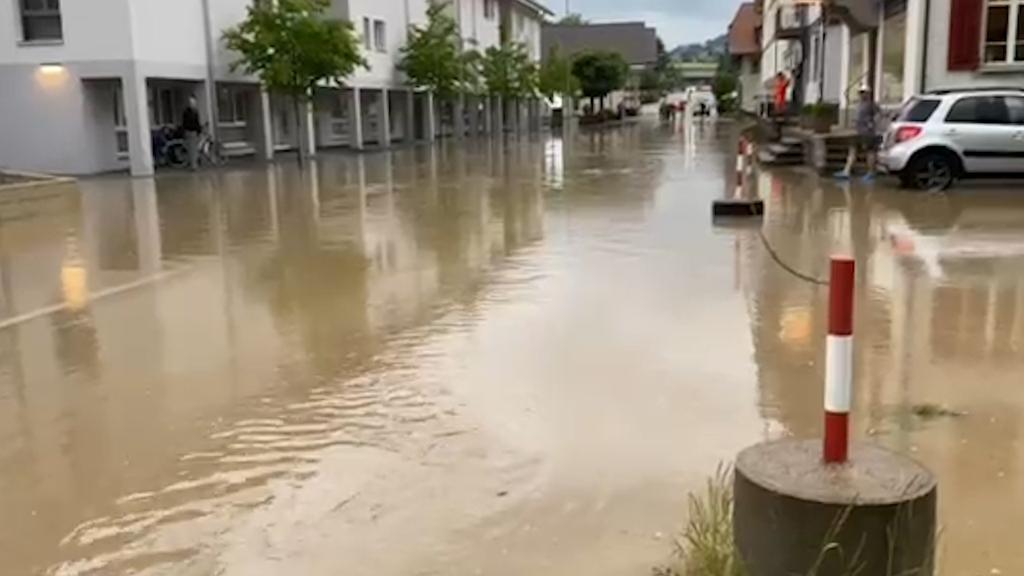 Live ab 12 Uhr: Sondersendung zu Unwettern im Kanton Bern