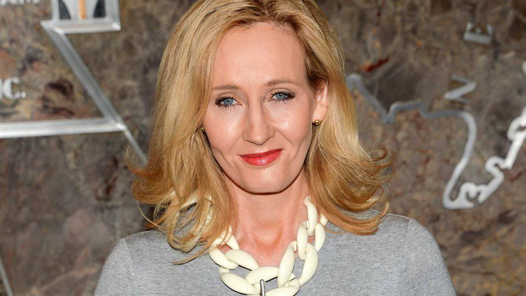 """""""Harry Potter""""-Autorin J.K. Rowling schreibt und schreibt: Diese Woche bloggt sie in mehreren Teilen über die Zaubereigeschichte Nordamerikas (Archiv)."""