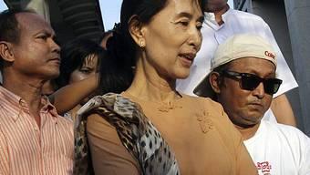 Aung San Suu Kyi hofft auf besseres Verhältnis zur Regierung