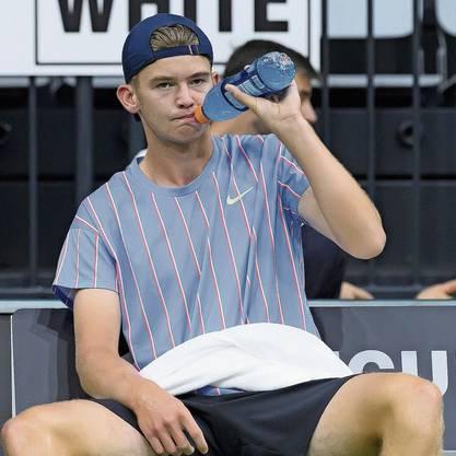 Wohin führt sein Weg? Jérôme Kyms Aufstieg zum Tennisprofi geriet zuletzt ins Stocken.