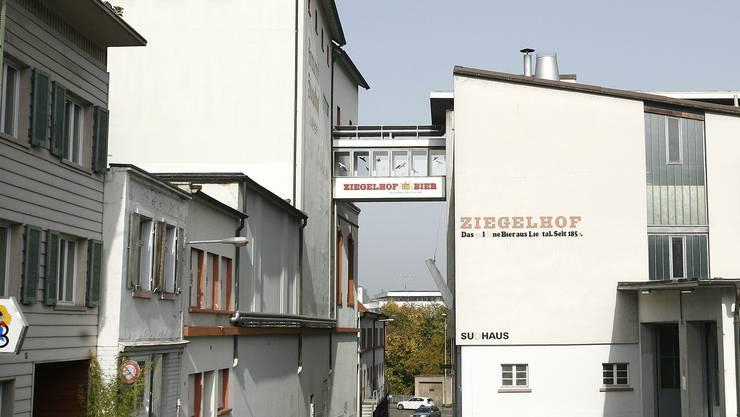 Neugestaltung: Die Stadt Liestal arbeitet an einem Masterplan für das Gebiet rund um die ehemalige Brauerei Ziegelhof. Um die  Sache nicht zu komplizieren, ist das Ziegelhof-Areal selber vom Masterplan ausgenommen. (Bild: Archiv Nicole Zimmer)