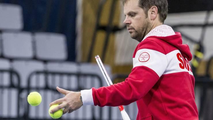 Team-Captain Severin Lüthi gab sein Aufgebot für das Davis-Cup-Playoff bekannt