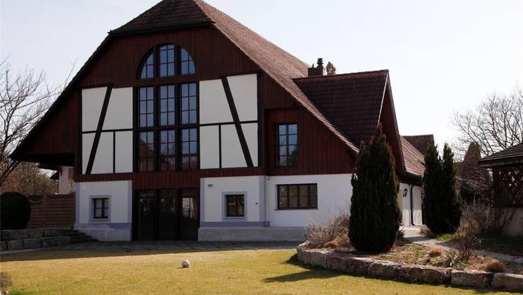 Das Landhaus an der Hauptstrasse in Horriwil ist zurzeit unbewohnt.