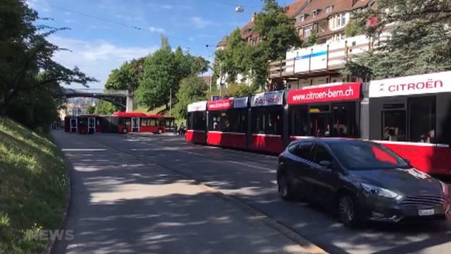 Bernmobil-Bus: Misslungener U-Turn