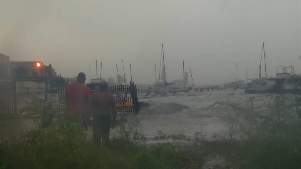 Hurrikan «Douglas» im Pazifik und Hurrikan «Hanna» im Atlantik