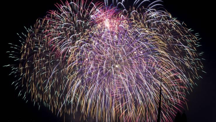 Wegen der anhaltenden Trockenheit darf in manchen Regionen der Schweiz kein Feuerwerk gezündet werden (Symbolbild).