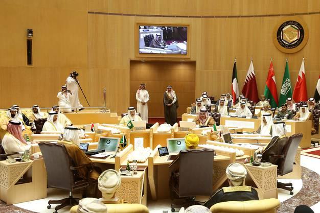Trump wird in Saudi Arabien, der ersten Station, mit Ministern mehrerer Golf-Länder zusammentreffen. In der Hauptstadt Riad hat der Golf-Kooperationsrat den Trump-Besuch am Mittwoch schon einmal diskutiert.