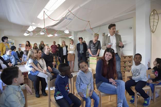 Eröffnung Kindergarten Perron 3
