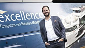 Karim Twerenbold führt das Badener Familien-Reiseunternehmen in vierter Generation.