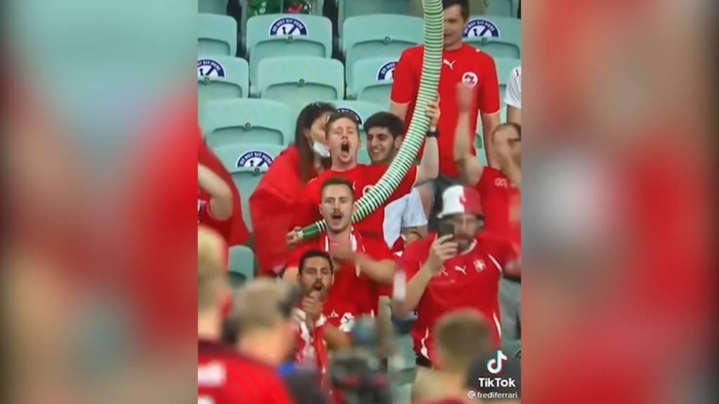 Wie viel haben die Fans da in Baku getrunken?