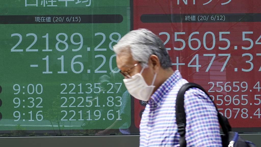 Tokio besorgt über erneuten Anstieg bei Corona-Infektionen