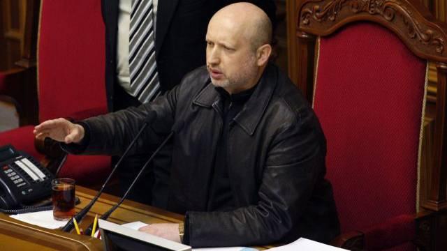 Turtschinow setzt weiter Soldaten gegen Separatisten ein (Archiv)