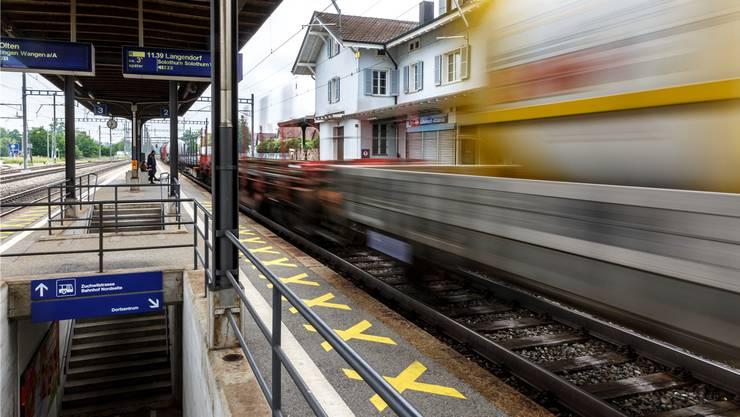 Die Unterführung beim Bahnhof Luterbach muss behindertengerecht ausgeführt werden. Gleichzeitig soll Attisholz Süd für die ÖV-Kunden erschlossen werden.