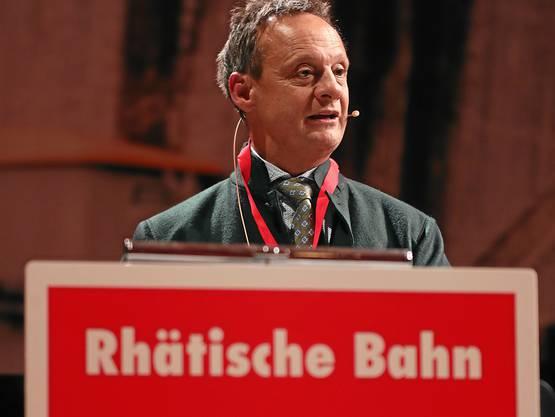 Stefan Engler, Verwaltungsratspräsident der Rhätischen Bahn.