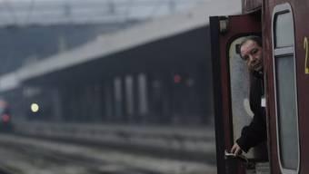 Mitarbeiter der bulgarischen Eisenbahn-Gesellschaft BDZ (Archiv)