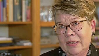 Elisabeth Brochetti aus Beinwil arbeitete 40 Jahre als Sekretärin und lebt jetzt von Sozialhilfe.