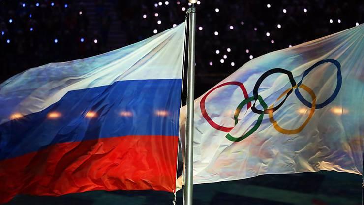 An den Olympischen Winterspielen in Sotschi vor zwei Jahren sollen mehrere russische Athleten gedopt gewesen und deren Dopingproben manipuliert worden sein. Die US-Justiz ermittelt nun wegen dieser bislang nicht bewiesenen Vorwürfe. (Archivbild)
