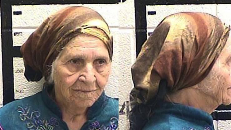 """Die 87-jährige Martha Al-Bishara wurde von Polizisten im US-Gliedstaat Georgia mit einer Elektroschockpistole """"ausser Gefecht gesetzt"""". Sie hatte mit einem Küchenmesser Löwenzahn geschnitten und verstand die Polizisten nicht.  (Foto: Murray County Jail via AP)"""