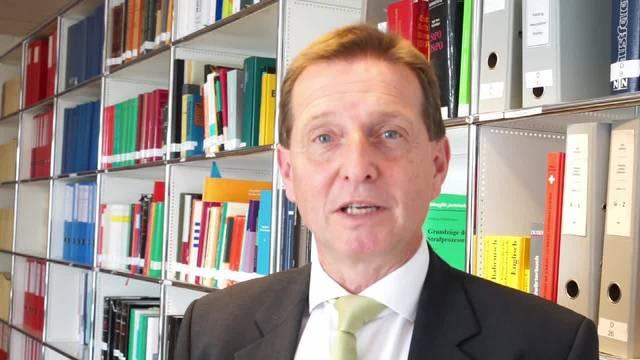 «Das Bundesgericht hat mit der Strafzumessung für gewisse Delikte angezogen»: Der Solothurner Oberstaatsanwalt Hansjürg Brodbeck beantwortet Fragen