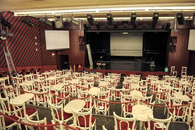 Der Saal des Häbse-Theater.