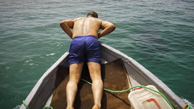 Betrunkene haben mit ihrem Fischkutter ein russisches Atom-U-Boot gerammt (Symbolbild)