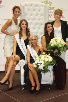 Die gebürtige Badenerin als frisch gekürte «Miss RVBW» 2012.