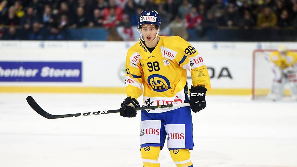 Der nun in Schweden spielende Ken Jäger debütiert am Wochenende im Nationalteam. (Archivbild)