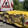 Unfall auf A3 bei Münchwilen (Mai 2020)