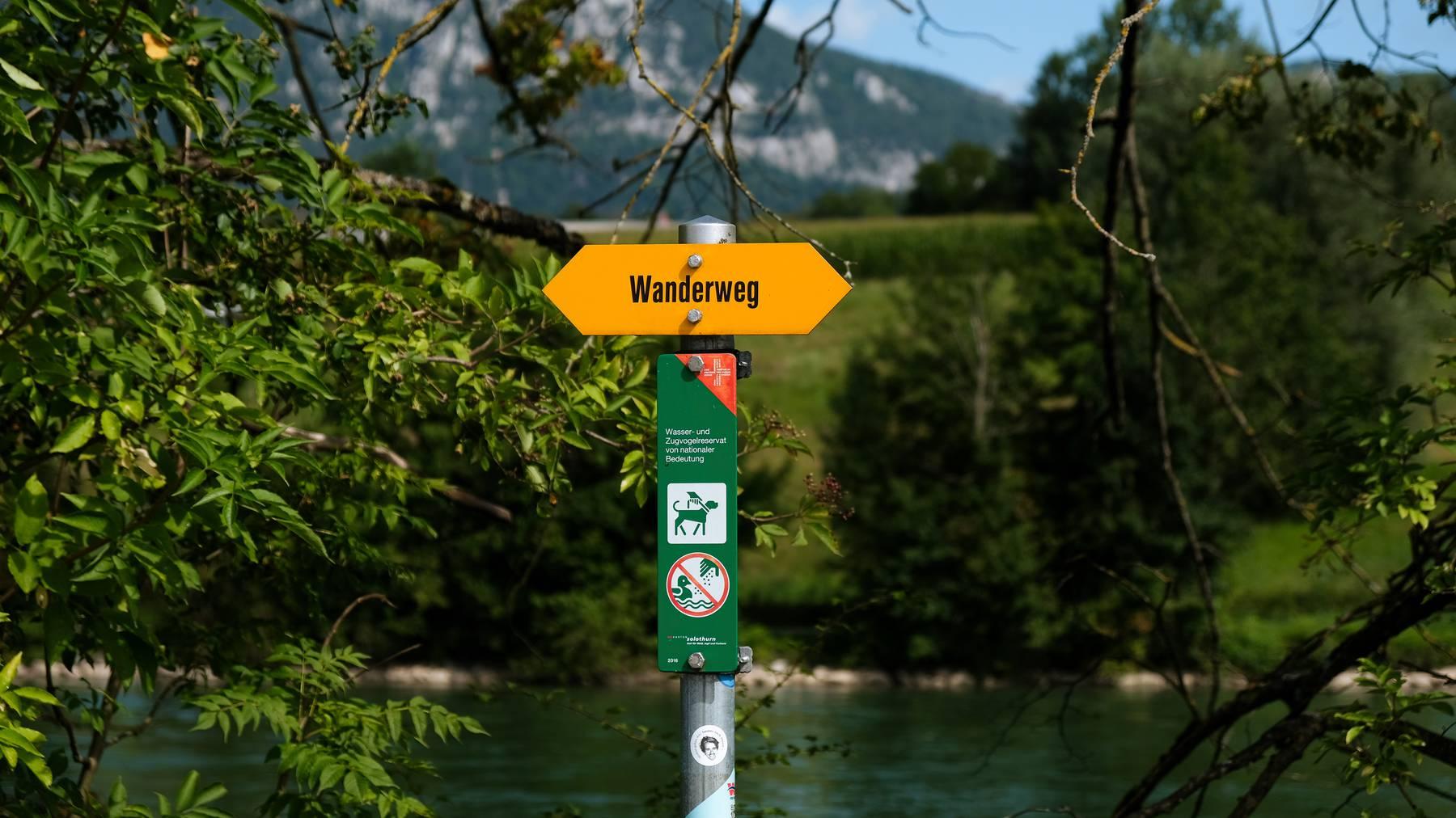 65'000 Kilometer markierte Wanderwege gibt es in der Schweiz!