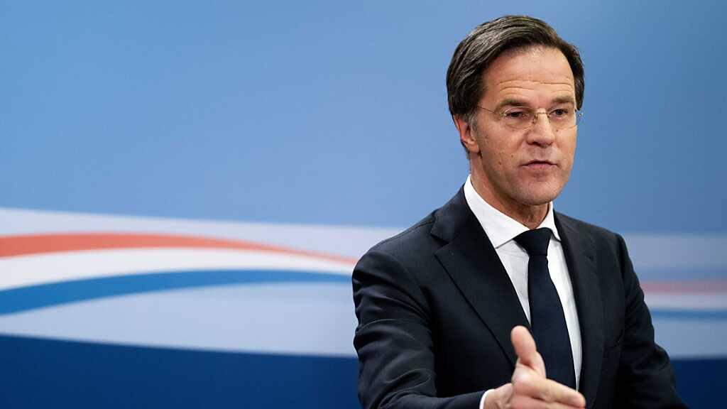 Premier Rutte verurteilt Corona-Krawalle: Kriminelle Gewalt