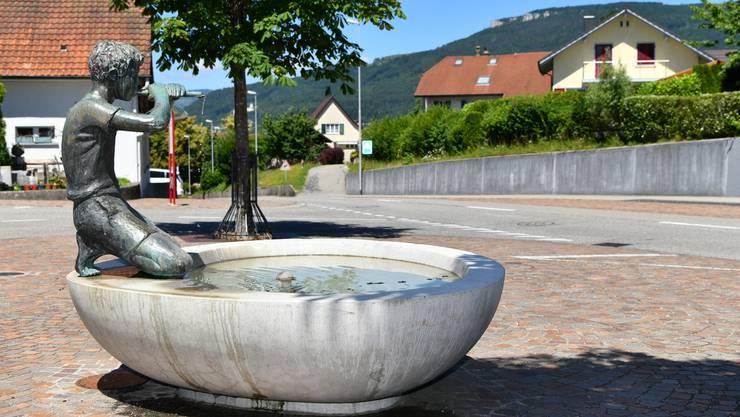 Dieser Platz beim Rainbrunnen soll nach dem Kestenholzer Künstler Cäsar Spüigel benannt werden.